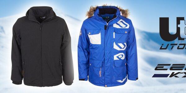 E2KO a Utopik - pánské oblečení do sněhové nadílky