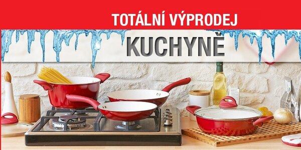 Výprodej nádobí a pomocníků do kuchyně