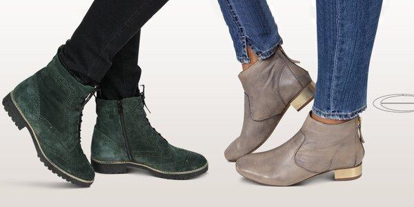 Trendy dámské boty do města Eye