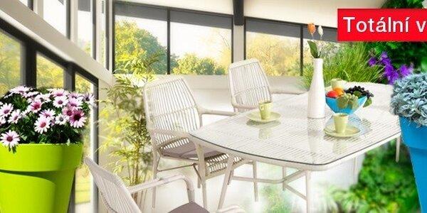 Nábytek a květináče pro letní i zimní zahradu - výprodej posledních kusů !