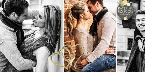 Romantické focení pro pár či jednoho včetně make-upu v luxusním prostředí…