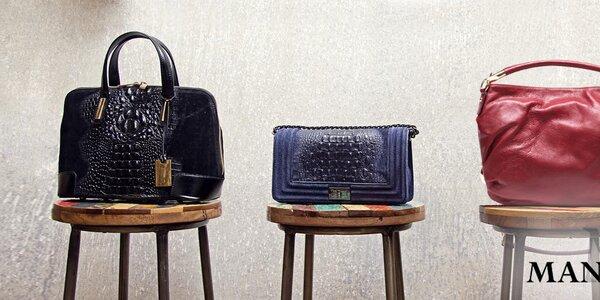 Okouzlující kožené kabelky Mangotti