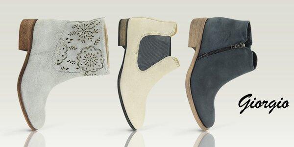 Elegantní dámské boty do města Giorgio Picino
