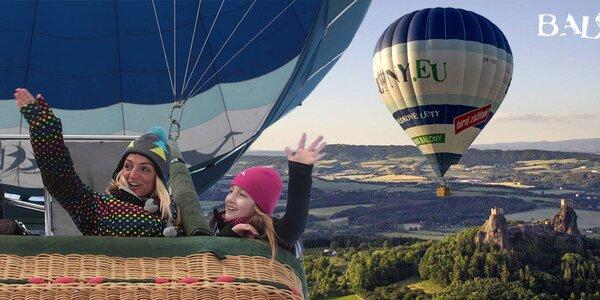 Let horkovzdušným balonem. Vzhůru do oblak!