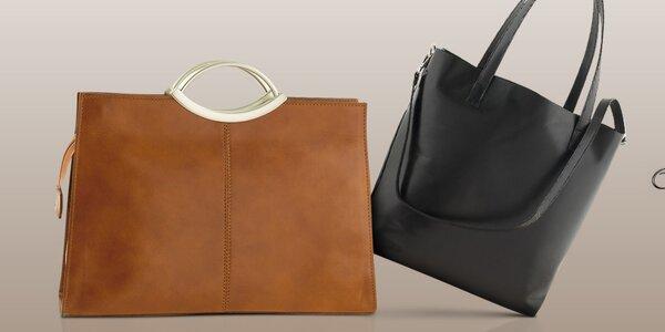 Kožené italské kabelky Ore 10