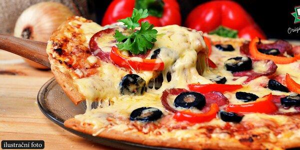50% sleva na 1-5 pizz dle výběru