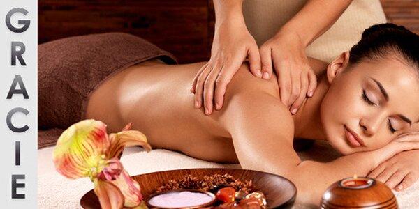 Zdravotní masáž zad, šíje a hýždí (60 minut)