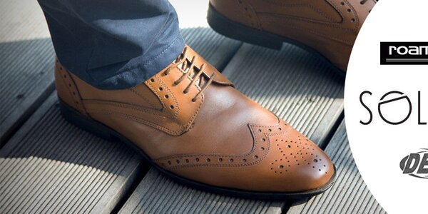 Elegantní pánské boty Dek, Roamers, Route21