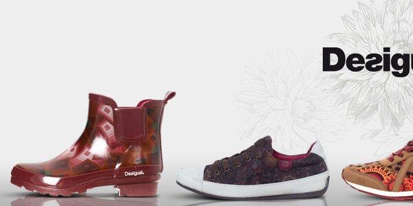 Neodolatelné dámské boty a holínky Desigual