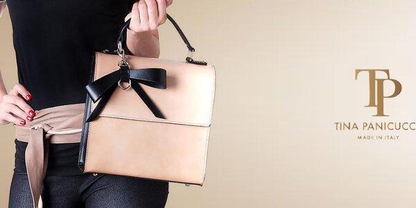 Italské dámské kabelky a pásky Tina Panicucci