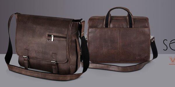 Pánské tašky, peněženky a kožené opasky Solier, Verso