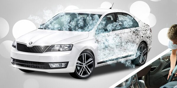 Důkladné mytí vašeho vozu - exteriér i interiér