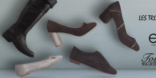Trendy dámské boty Les Tropeziennes, Elite, Toscania a další
