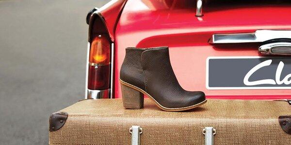 Kvalitní obutí pro dámy Clarks