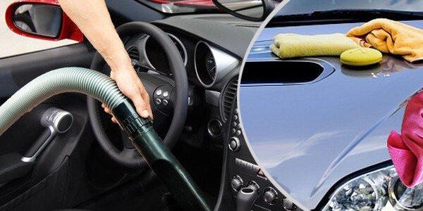 Kompletní vyčištění vozidla v Hradci Králové