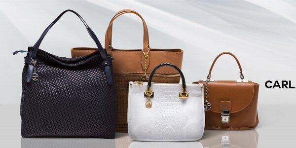 Kožené dámské kabelky Carla Ferreri