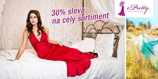 30% sleva na společenské šaty Ever-Pretty