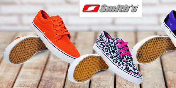 Dámské barevné textilní tenisky Smith's
