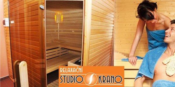 239 Kč za privátní saunu v Teplicích pro DVA a voucher na další služby