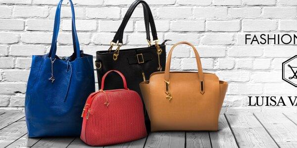 Luxusní kožené kabelky Luisa Vannini