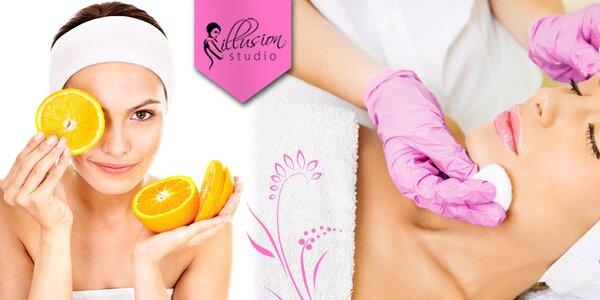 Luxusní kosmetické ošetření + masáž obličeje