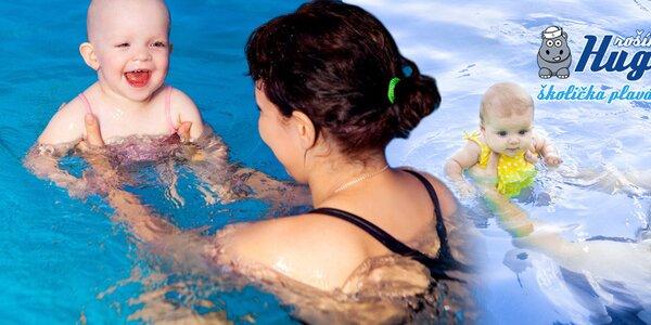 5 lekcí plavání pro děti ve slané vodě