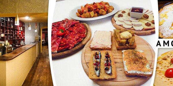 Španělské degustační menu pro dva