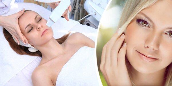 Hloubkové ošetření pleti s masáží obličeje, krku a dekoltu