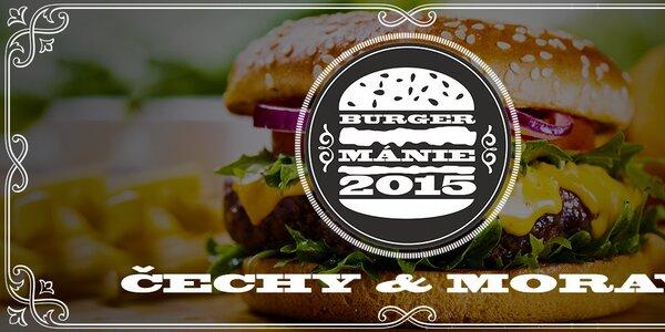 Burgermánie - váš jazyk vybere nejlepší burgrárnu!