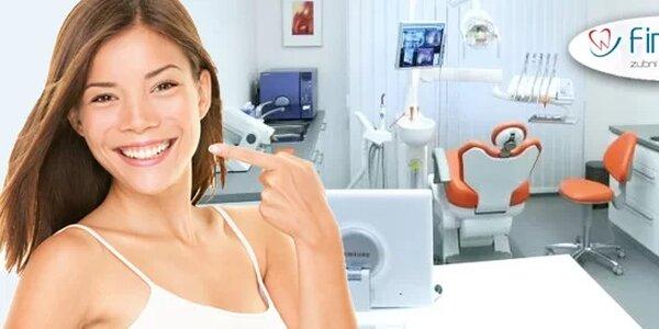 Profesionální dentální hygiena na klinice Finedent