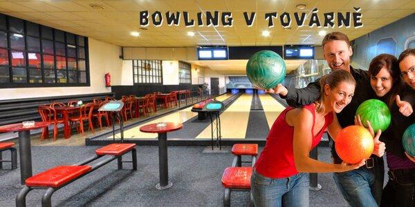 60 minut bowlingu až pro 8 hráčů