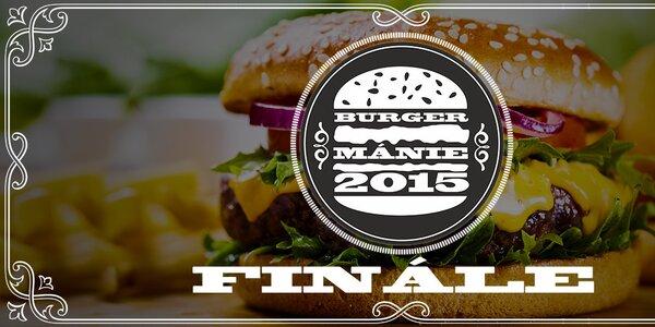 Finále Burgermánie - zvolte krále burgráren!