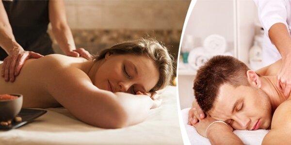 Úžasná relaxační či klasická masáž