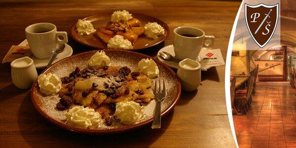 Skvělý domácí dezert a káva pro dva