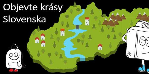 Aktivní i relaxační dovolená na Slovensku