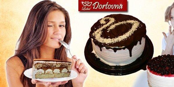 Lahodné dorty Labuť – sladký život se stane zvykem