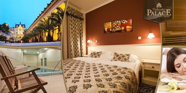 Luxusní odpočinek pro dva v Karlových Varech
