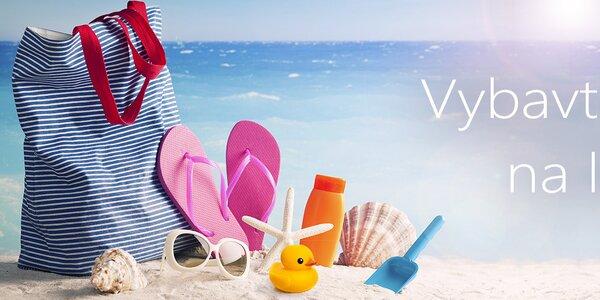 Letní nezbytnosti k vodě i na pláž