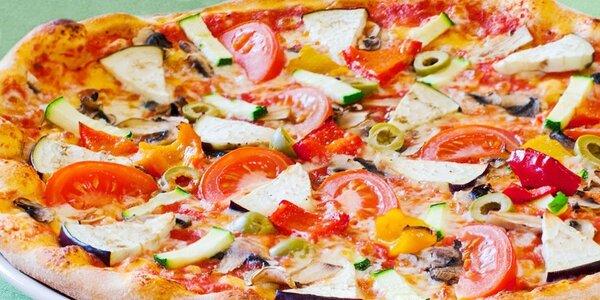 2 výtečné pizzy dle vlastního výběru