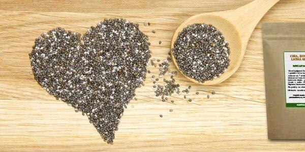 Mega směs - Chia, konopná a lněná semínka