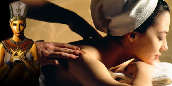 60 minut pravé egyptské masáže - 5 druhů masáží