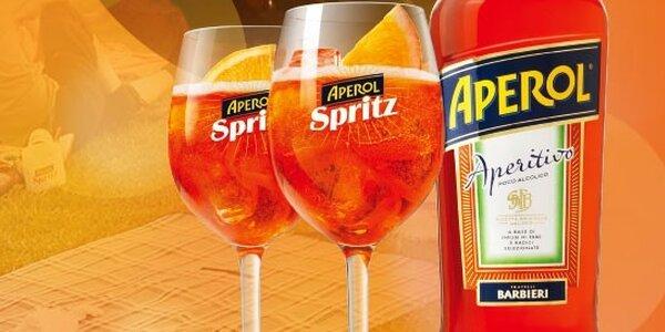 Legendární drink Aperol Spritz ve Slevomat IT Baru