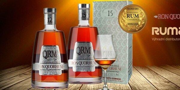 Vynikající karibský rum Quorhum 12 a 15 Años