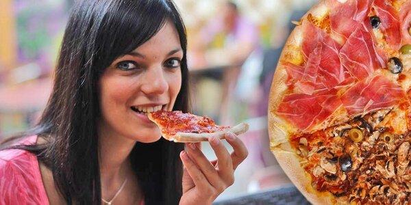 2 pizzy dle vlastního výběru v pizzerii Toscana