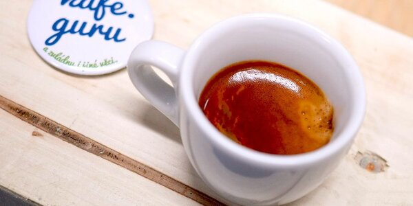 Nabitá karta na 5 šálků kávy v Kafe.guru