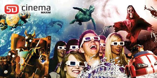 Vstupenka do kina 5D Cinema MAXIM