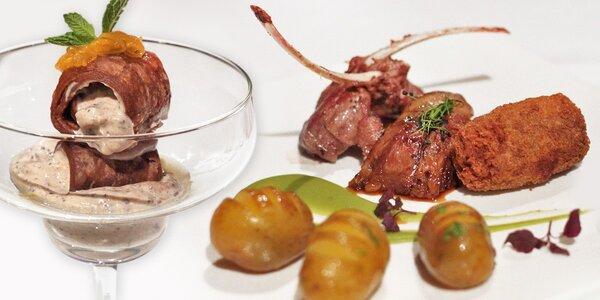 Degustační menu pro dva ve Fine Dining restauraci Salon