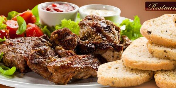 Hora grilovaného masa až pro čtyři osoby
