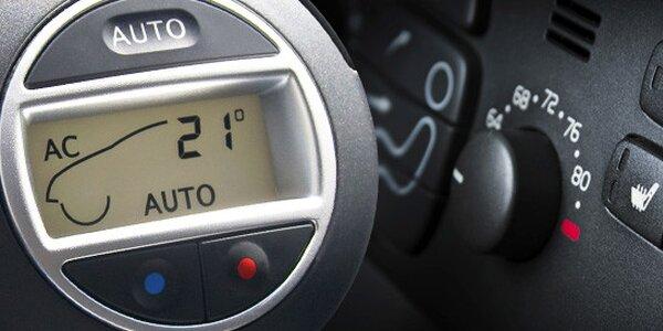 Servis a doplnění klimatizace- výběr ze 2 variant