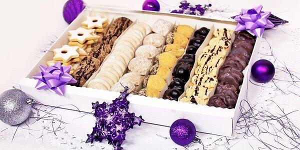 Vánoční cukroví sedmi chutí z cukrářství Novojan